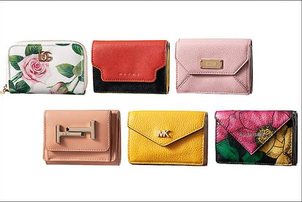 気分も新たにお気に入りの財布を見つければ、この一年をハッピーに過ごせそう(NikkeiLUXEより)