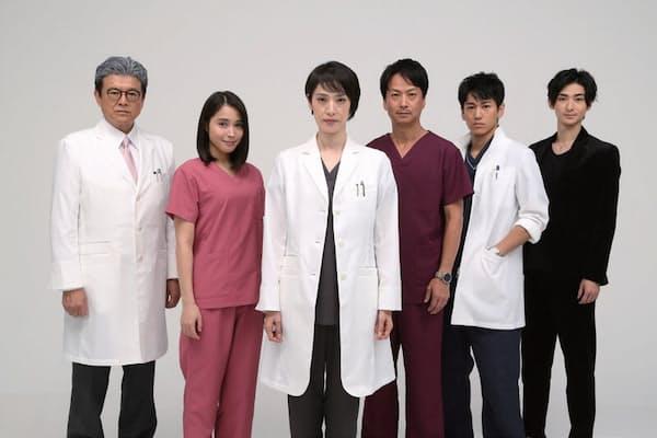 『トップナイフ-天才脳外科医の条件-』(土曜22時/日本テレビ系)