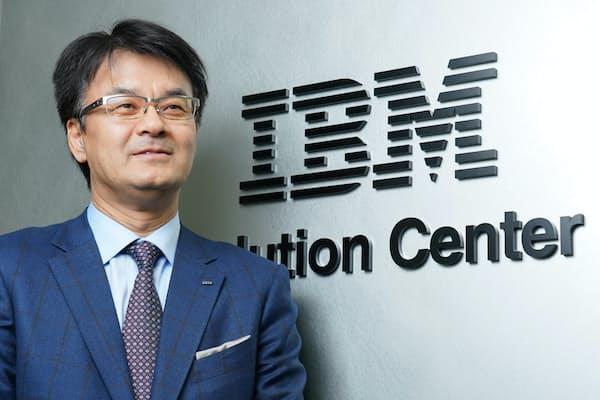 日本IBM 山口明夫社長