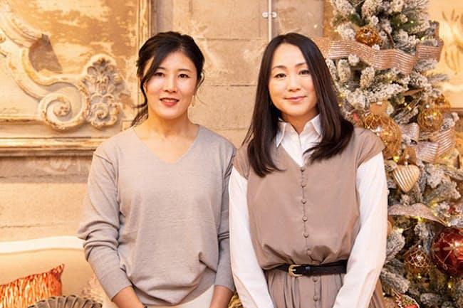イタリアの人気インテリアブランド「ブランマリクロ」。そのアジア初出店を実現させたのが関谷 愛さんと、くぼ砂由美さんの2人の女性だ(NikkeiLUXEより)