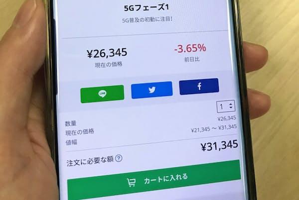 投資テーマを選んで関連銘柄を自動購入(LINEスマート投資)