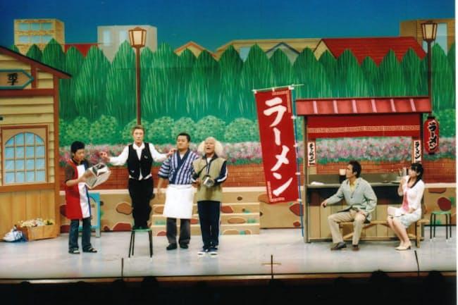 なんばグランド花月での吉本新喜劇の公演