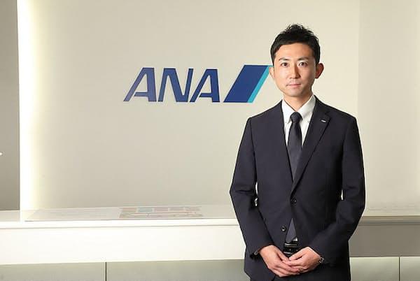 採用を担当する人財戦略室ANA人財大学の乙崎友平氏