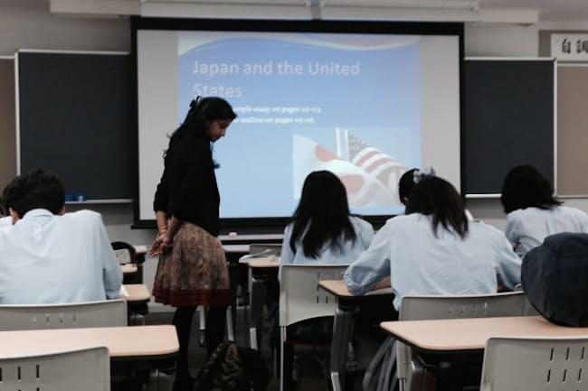 帰国生向けの英語のエッセーライティングの授業