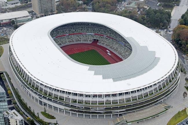 2020年東京五輪・パラリンピックのメーンスタジアム新国立競技は大成建設などのJV(共同事業体)が建設を担当した