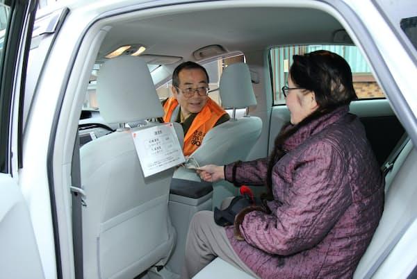 トヨタは「天敵」ともいえるライドシェア企業と賢く連携する(京都府京丹後市の実証実験に参加するウーバー)