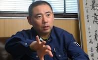 日興エボナイト製造所 代表取締役 遠藤智久氏