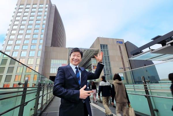 東急モールズデベロップメントの秋山浄司社長