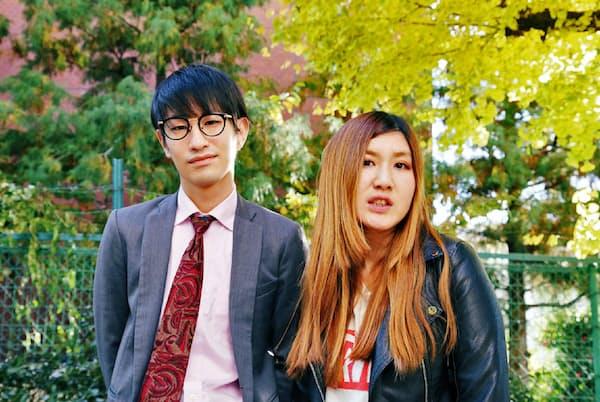 納言 左/安部紀克、1992年6月12日生まれ、埼玉県出身。右/薄幸、93年1月24日、千葉県出身。薄幸の芸名はビートたけしが名付けた。太田プロダクション所属