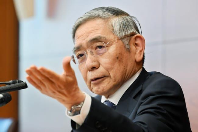 日銀の黒田東彦総裁は「潤沢な資金供給に努める」という談話を発表した