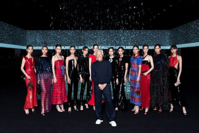 世界の話題をさらった「ジョルジオ アルマーニ」の無観客ファッションショー(ブランド提供)