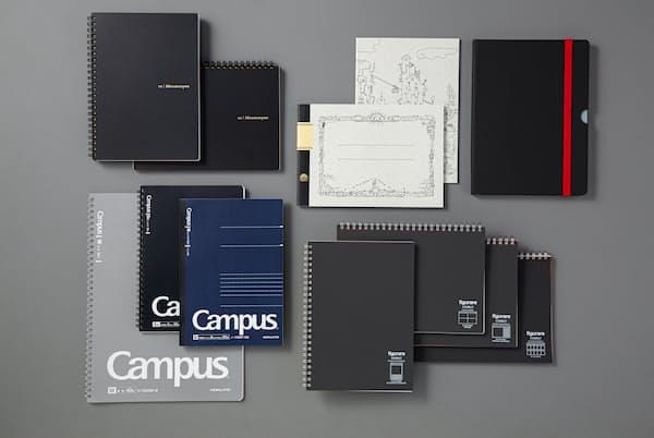 ビジネスシーンで活躍する、工夫を凝らしたノートを紹介する