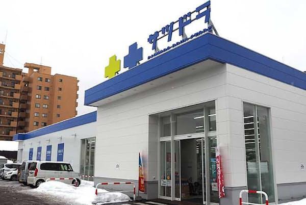北海道を中心に展開するサツドラ(サッポロドラッグストアー)は20年内に100店舗でAI画像分析システムを導入する計画を立てている。写真はサツドラ桑園北8条店