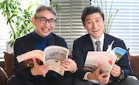 ローランド・ベルガーの長島聡 社長(左)とディスカバー・ジャパンの高橋俊宏 社長・統括編集長(右)