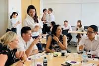 女性リーダーの育成がテーマの企業研修