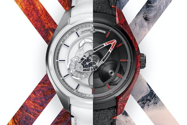 「フリークX」の新作2モデルは溶岩と氷という対極にある自然をデザインに投影した