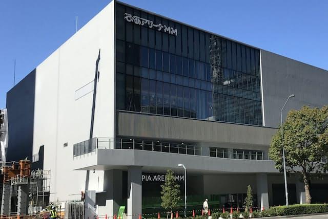 4月25日にオープン予定だったライブ施設「ぴあアリーナMM」(横浜市)