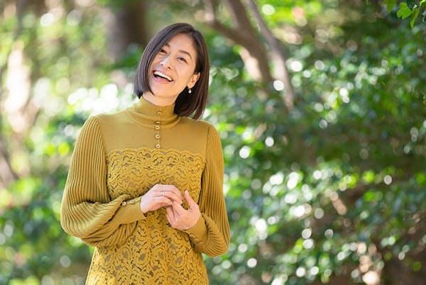 「鎌倉での日常を想像するだけで頑張れます」と語る末吉里花さん
