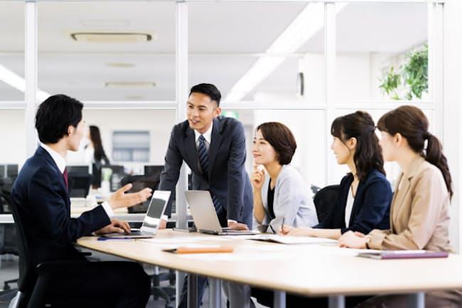新規事業開発チームでリーダーを務めた実績は転職先での期待が大きい 写真はイメージ =PIXTA