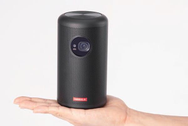 手のひらに載るコンパクトなボディー。サイズとしては、500ミリリットル缶に近いイメージだ。740グラムあるので、それなりに重量感はある