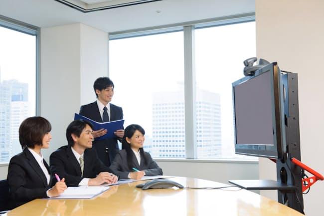 転職採用時の面接・面談はオンライン(ビデオ会議)への切り替えが進んでいる 写真はイメージ =PIXTA