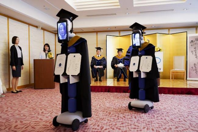 BBT大は完全オンラインで「アバター卒業式」を開催した(2020年3月)