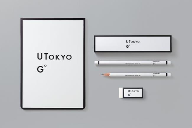 (左)UTokyo Goペーパーパッド(黒)650円、(右上)UTokyo Go鉛筆(黒)5本入り950円、(右下)UTokyo Go消しゴム(黒)350円(価格はすべて税込み、以下同)