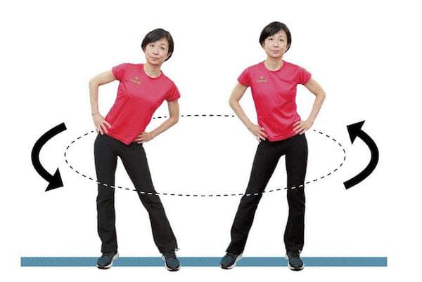 モデルは桜美林大学芸術文化群講師・渡辺久美
