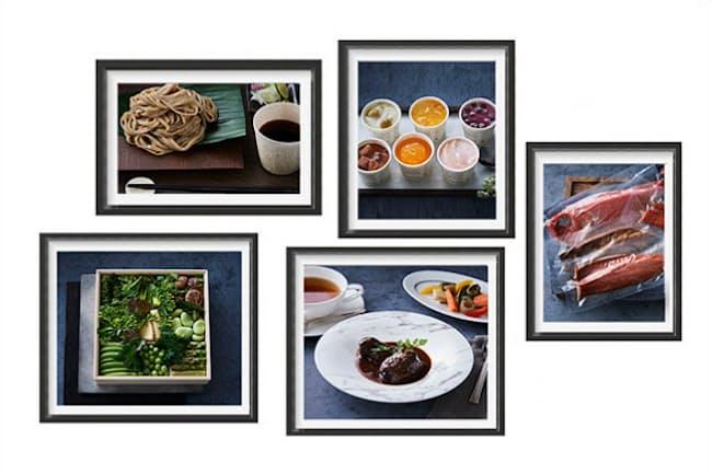 ひと手間で贅沢な食卓を演出できる逸品や、自宅でレストラン気分が味わえるジビエ、新感覚の干物や麺、極上デザートをセレクトした。