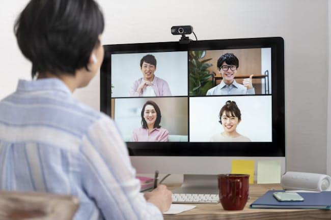 在宅ワークでオンライン会議が増えている(写真はイメージ=PIXTA)