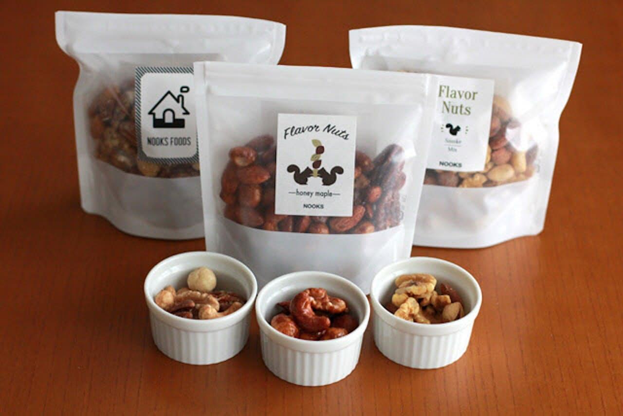 「NOOKS FOODS」で人気のナッツ