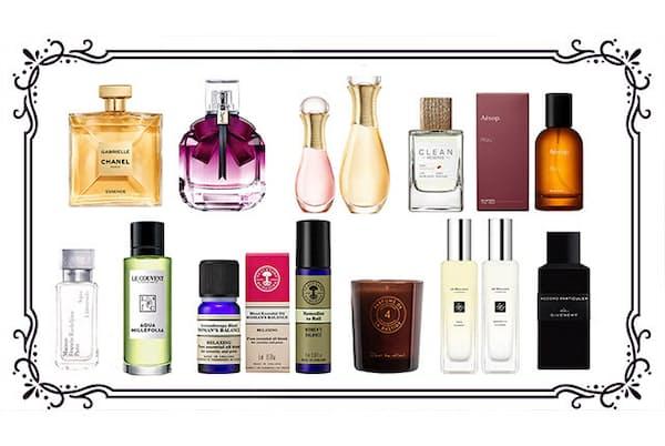 香水だけでなくキャンドルや精油など、気持ちをたちまちリフレッシュしてくれる魅力的なフレグランスを紹介。あなたの気になる香りはどれ?(NikkeiLUXEより)