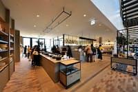 「STUDIO AREA(スタジオエリア)」にある直営ショップ「バーミキュラ フラッグシップショップ」。スタジオエリアには、ほかにスタジオ、ライブラリーなどがある