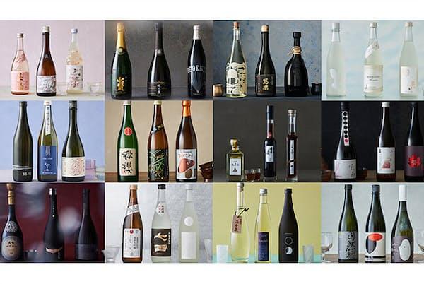 季節に合った日本酒を選べば、その魅力をいっそう深く味わえる。(NikkeiLUXEより)