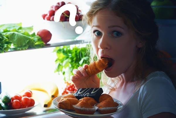 コロナで外食を控える中、太った人と太らない人の違いは何か。(c) Evgeny Atamanenko-123RF