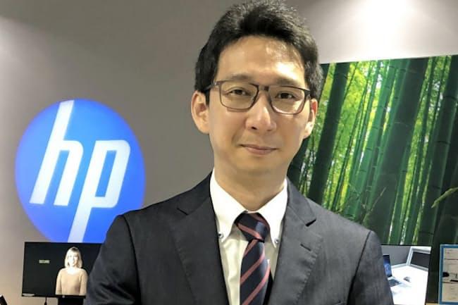 日本HPの八高秀明さん
