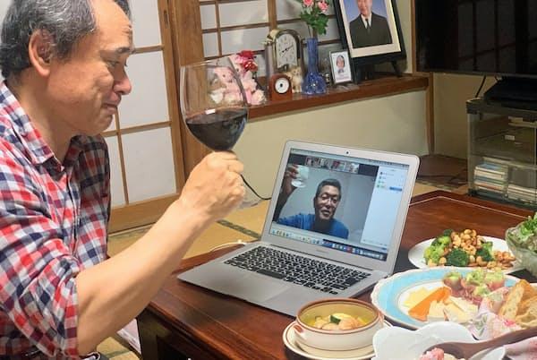 ビデオ会議システムのZoomを使って、大学の同期とゴールデンウイークにオンライン飲み会