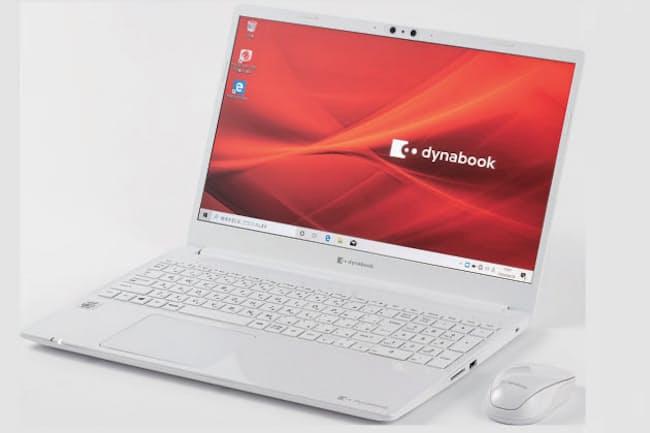 新しい家庭向けノートパソコンとして発売された15.6型液晶搭載の「ダイナブックC」シリーズの下位機