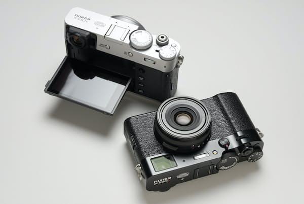 富士フイルムの高級コンパクトデジタルカメラ「X100V」。公式オンラインショップの価格は18万950円(税込)