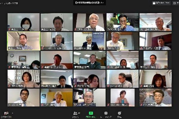 30% Club Japanが5月25日に開いたオンライン社長会