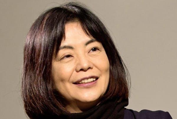 「読めば読むほど分からなくなる人物を書きたい」と話す多和田葉子