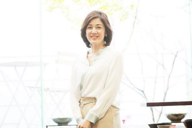 フリーアナウンサーの勝恵子さん