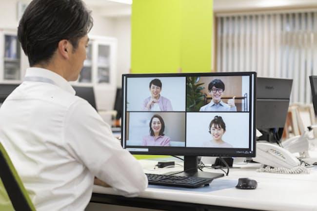 テレビ会議では声の出し方が大事になってきた。 写真はイメージ=PIXTA