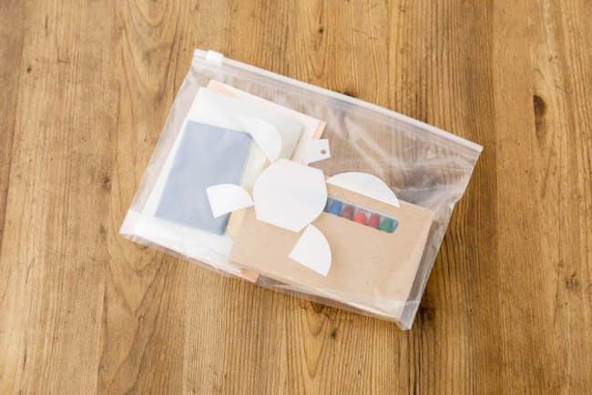 ロハコの「スライダーバッグMサイズ」。食材以外にも多様なものを収納できる