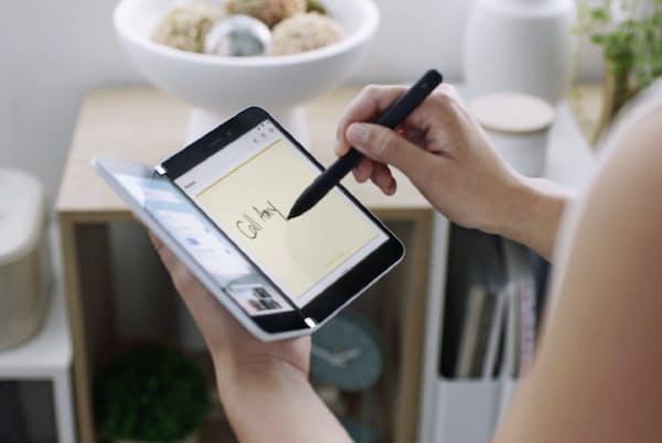 OSにアンドロイドを搭載するマイクロソフトの「Surface Duo」は2020年末に発売予定