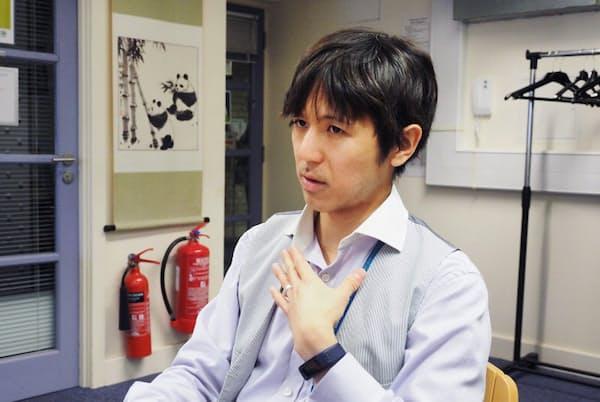 糖尿病と肥満にかかわるケンブリッジ大学の疫学ユニットに所属する今村文昭さん。