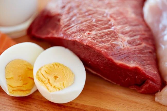 筋肉量の低下を避けるために、たんぱく質が必要? 写真はイメージ=(c)dolgachov-123RF