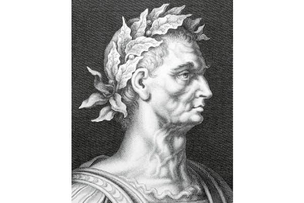 ユリウス・カエサル 古代ローマの将軍、執政官、独裁官。ルビコン川を渡り、ローマ帝国の成立に至る一連の流れを生み出した(credit: Georgios Kollidas)
