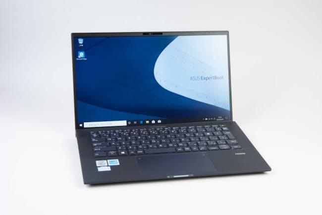 ASUSのExpertBook B9。14型ディスプレー搭載で重さ870グラムと軽い