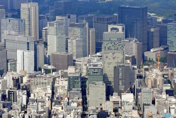 都心のオフィス街
